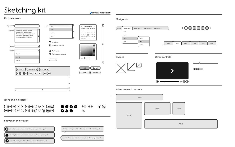 wireframes magazine templates. Black Bedroom Furniture Sets. Home Design Ideas