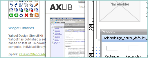 Wireframes Magazine » Axure Libraries & Widgets Compilation