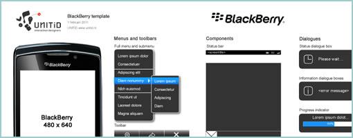 wireframes magazine unitid blackberry template for fireworks