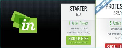 InVisionApp: Starter Plan