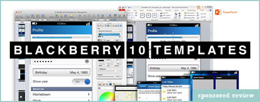 Blackberry 10 Templates